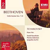 Beethoven: Violin Sonatas no 7-10;  Tchaikovsky: Piano Trio