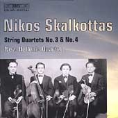 Skalkottas: String Quartets no 3 & 4 / New Hellenic Quartet