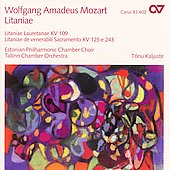 Mozart: Litaniae / Kaljuste, Urb, Moor, Roopalu, et al