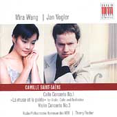 Saint-Saëns: Violin, Cello Concertos, etc / Thierry, Vogler, Wang, et al