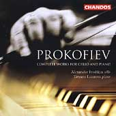 Prokofiev: Works for Cello and Piano / Ivashkin, Lazareva