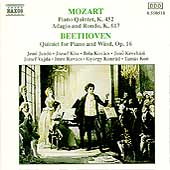 Mozart, Beethoven: Piano Quintets, etc / Jand&oacute;, et al