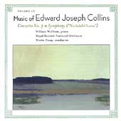 Edward Collins: Piano Concerto no 3, Symphony in b / Wolfram
