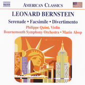American Classics - Bernstein: Serenade, etc / Alsop, et al