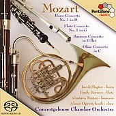 Mozart: Wind Concertos / Concertgebouw Chamber Orchestra