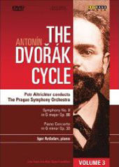 The Dvorak Cycle Vol. 3 / Symphony No. 8, Piano Concerto / Ardasev [DVD]
