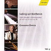 Beethoven: Piano Sonatas Vol 4 / Gerhard Oppitz
