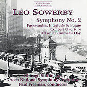 Sowerby: Symphony no 2, etc / Freeman, Chicago Sinfonietta