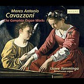 Cavazzoni, Fogliano, etc: Organ Works / Tamminga