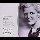 Handel: Italian Solo Cantatas / Adele Stolte, et al