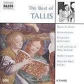 The Best of Thomas Tallis / Summerly, Oxford Camerata