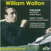 William Walton: Fa&#231;ade; Henry V Music; Coronation March 
