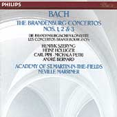 Bach: The Brandenburg Concertos nos 1, 2 & 3 / Marriner