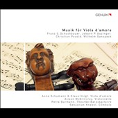 Musik f&uuml;r Viola d'Amore / Anne Schumann