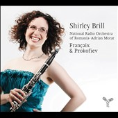 Francaix & Prokofiev: Works for Oboe / Shirley Brill