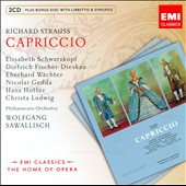 Strauss: Capriccio / Schwarzkopf, Fischer-Dieskau, Wachter, Gedda