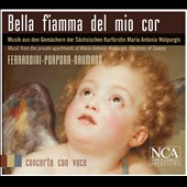Beautiful flame of my heart - works by Ferrandini, Porpora, Naumann / Barbara Christina Steude, soprano; Jan Katzschke, harpsichord