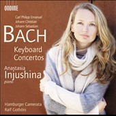 C.P.E., J.C. & J.S. Bach: Keyboard Concertos / Anastasia Injushina, piano