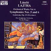 Lajtha: Orchestral Works Vol 6 / Pasquet, Pécs SO