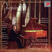 Chopin: Concerto for Piano no 2, etc / Ax, Mackerras, et al