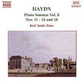Haydn: Piano Sonatas Vol 8 / Jen&ouml; Jand&oacute;