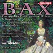 Bax: Concertante for Piano, etc / Fingerhut, Rigby, Handley