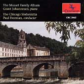 The Mozart Family Album / Johannsen, Freeman