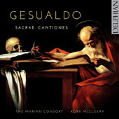 Carlo Gesualdo (1566-1613): Sacrae Cantiones / The Marian Consort