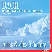 Bach - Arias & Oboe d'amore / Taylor, Haynes, et al
