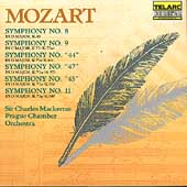 Classics - Mozart: Symphonies 8, 9, 44, 45 & 11 / Mackerras