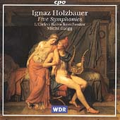 Holzbauer: Five Symphonies / Gaigg, L'Orfeo Barockorchester