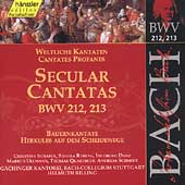 Edition Bachakademie Vol 67 - Secular Cantatas BWV 212, 213
