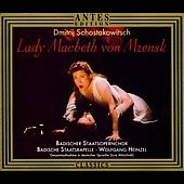 Shostakovich: Lady Macbeth of the Mzensk District / Heinzel