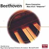 Eloquence - Beethoven: Piano Concerto no 4 & 5 /Arrau, et al
