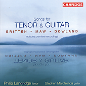 Songs for Tenor & Guitar / Langridge, Marchionda
