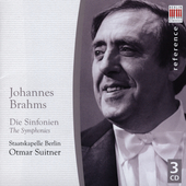 Brahms: Symphonies no 1-4 / Otmar Suitner
