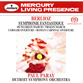 Berlioz: Symphonie Fantastique, etc / Paray, Detroit SO