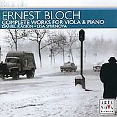 Bloch: Complete Works for Viola & Piano / Raiskin, Smirnova