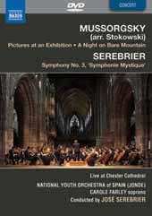 Mussorgsky: Pictures at an Exhibition (arr. Stokowski); Serebrier: Symphony No. 3 [DVD]