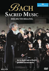 Bach: Sacred Music / Helmuth Rilling [DVD]
