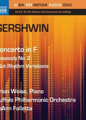 Gershwin: Concerto in F; Rhapsody No. 2, etc. / Orio Weiss, JoAnn Falletta [Blu-Ray]