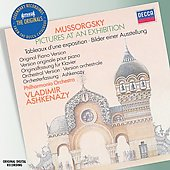 Mussorgsky: Pictures at an Exhibition / Ashkenazy
