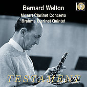 Mozart: Clarinet Concerto;  Brahms / Karajan, Walton, et al