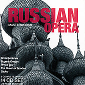 Russian Opera - Mussorgsky, Tchaikovsky, etc: Operas