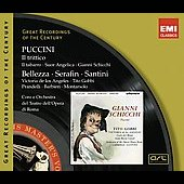 Puccini: Il Trittico / Bellezza, Serafin, Santini, Gobbi, Los Angeles, Rome Opera House Orchestra, et al
