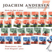 Andersen: Complete Recordings Vol 7 - Works for Flute and Piano / Jensen, Stengaard