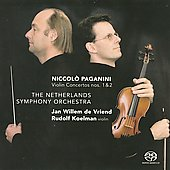Niccolo Paganini: Violin Concertos no 1 & 2 / Jan Willem de Vriend, Netherlands Symphony Orchestra, et al