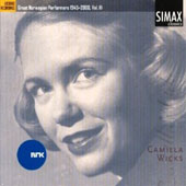 Great Norwegian Performers 1945-2000, Vol. 3: Camilla Wicks, violin