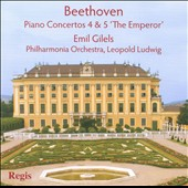 Beethoven Paino Concertos 4 & 5 / Gilels