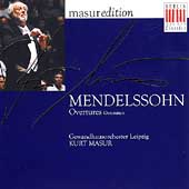 Masur Edition - Mendelssohn: Overtures / Gewandhausorchester